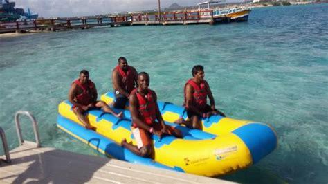 banana boat west palm beach banana boat ride picture of de palm island aruba