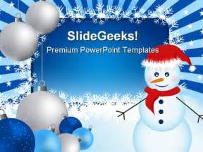 Snowman Powerpoint Template by Snowman Templet New Calendar Template Site