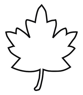 Outline Of A Pumpkin Leaf by Maple Leaf Drawing Template Search Crafts Outlines Journal And Craft