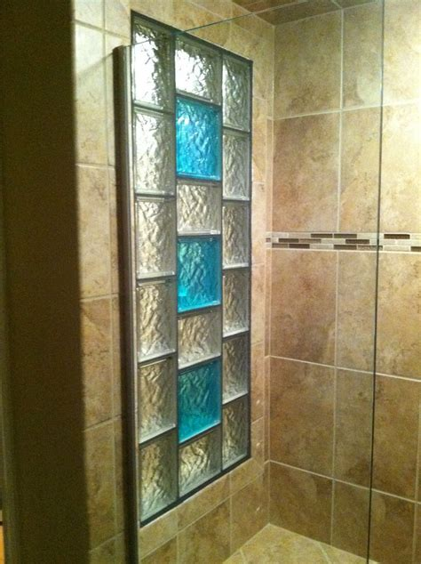 Glass Block Showers Small Bathrooms Best 25 Glass Block Shower Ideas On Pinterest Bathroom Shower Designs Glass Blocks Wall And
