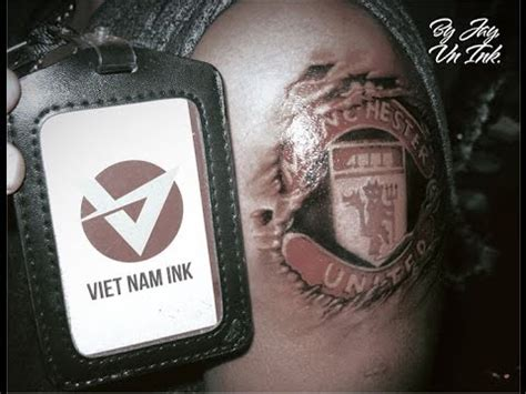 tattoo removal vietnam vietnam ink manchester united tattoo by jay youtube