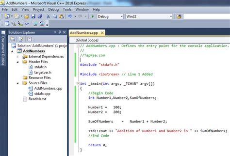 tutorial visual studio code c tutorial for visual studio tutorial