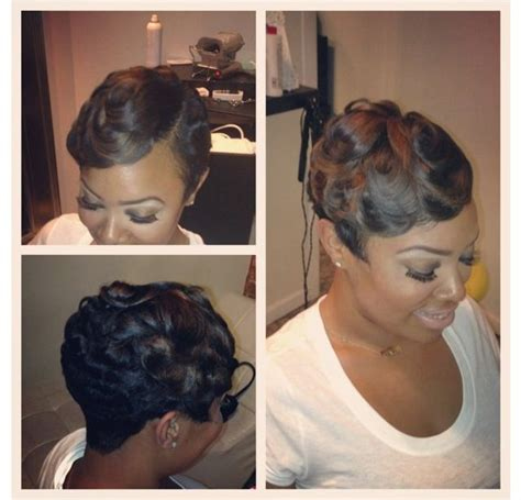 the american wave hair style 224 best short hair styles for black women images on