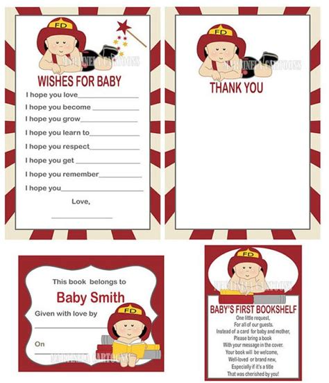Firefighter Baby Shower by Firefighter Baby Shower Invitation Fireman By