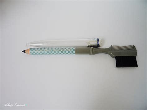 Pensil Alis Abu Abu shobi by collection eyebrow pencil black silver