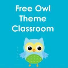 themes in literature wise owl owl theme blank file folder label template freebie http