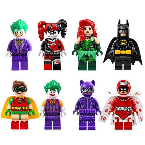 Bootleg Lego Batman Robin Hijau Kuning 8 x the lego batman batman joker robin harley quinn mini figures for lego ebay
