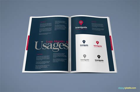The Harmony Free Brand Book Template Zippypixels Brand Book Template Free