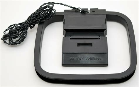 amfm loop antenna bare wire connectors home theater