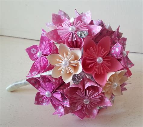 Origami Flowers For Wedding - 1000 ideas about origami bouquet on origami