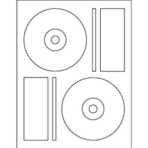 dvd label templates 1000 cd dvd labels matte white memorex