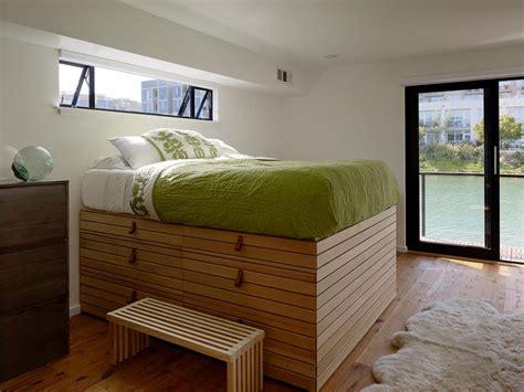 raised bedroom floor 10 beds that look good and have killer storage too hgtv