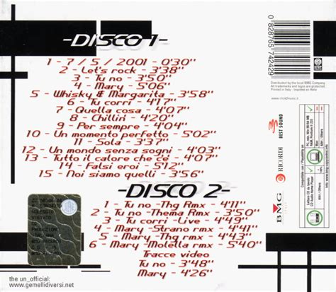 fuego gemelli diversi scarica la copertina cd gemelli diversi fuego 2 back