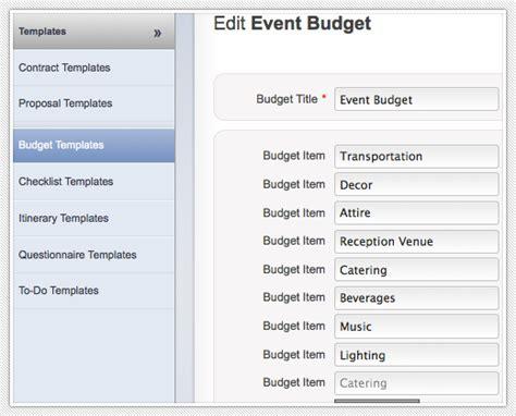 wedding event budget management software tools