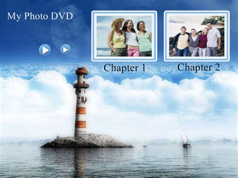 free dvd menu templates free vacation themed dvd menu background templates
