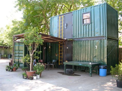 Shipping Crate Homes by Stacked Shipping Container Cabin Tiny House Pins