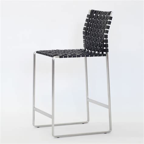 Woven Bar Stool by Woven Counter Stool Albrecht Studio Suite Ny