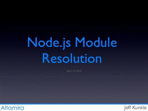 node js net module tutorial node js module resolution by visual exle