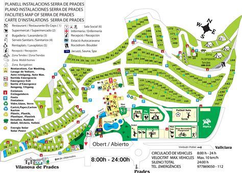 parcelle pour tentes serra de prades cing bungalow park