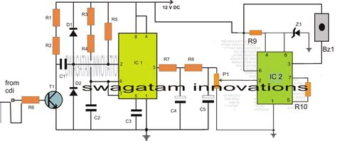 how the pcb for allowance is calculated car speed limit warning indicator circuit