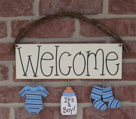 Baby Boy Welcome Home Decorations Home Welcome Baby And Its A Boy On