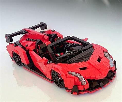 Lego Lamborghini Lego Lambo Veneno Roadster