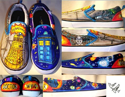 doctor who slippers doctor who shoes by k9luva on deviantart