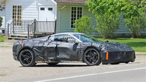 2020 Chevrolet Corvette Mid Engine by 2020 Mid Engined Chevy Corvette Spied Up