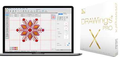Drawings 8 Embroidery Software by Drawings Pro X Embroidery Software