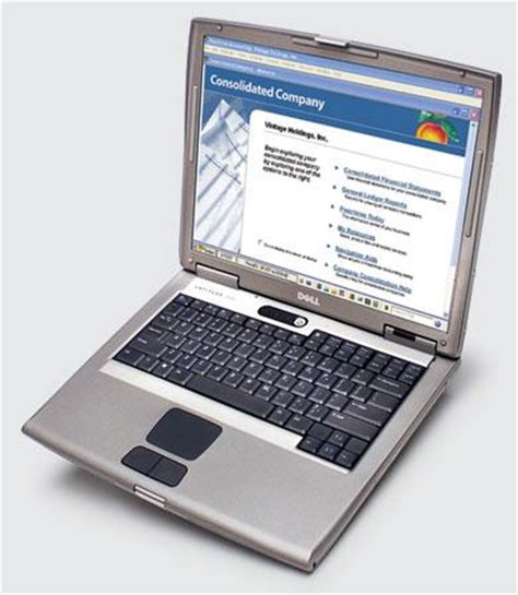 Laptop Dell Latitude D505 dell latitude d505 review rating pcmag