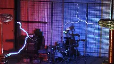 Play Tesla Song This Band Uses The Humming Of Tesla Coils To Play