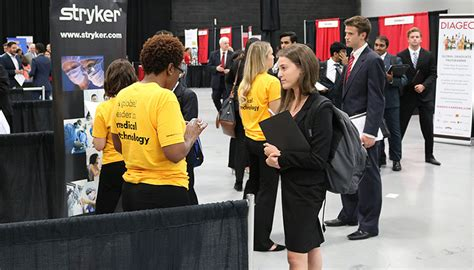 Rutgers Mba Career Management by Students Explore Possibilities At Annual Supply Chain