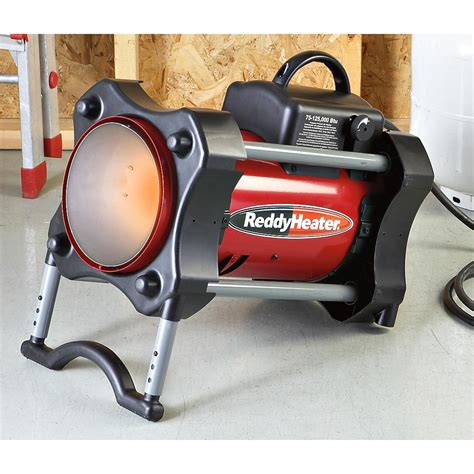 Propane Forced Air Garage Heater by Reddy Heater 174 125k Btu Forced Air Propane Heater 176887