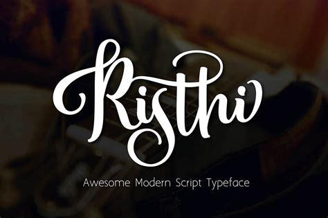 risthi script font befonts