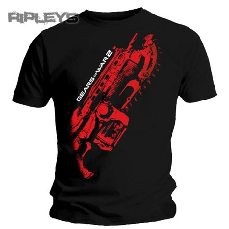 Tshirt 09 Xl From Ordinal Apparel Official T Shirt Gears Of War Stained Lancer Xl