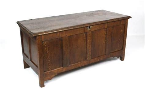 oak ottoman chest antique 18thc oak coffer blanket box chest ottoman