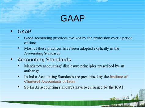 Financial Principles Mba by Understanding Financial Statements Ppt Mba Finance