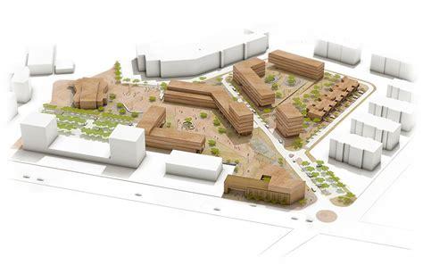 Draw Floor Plan masterplan of a disused industrial area bergamo italy
