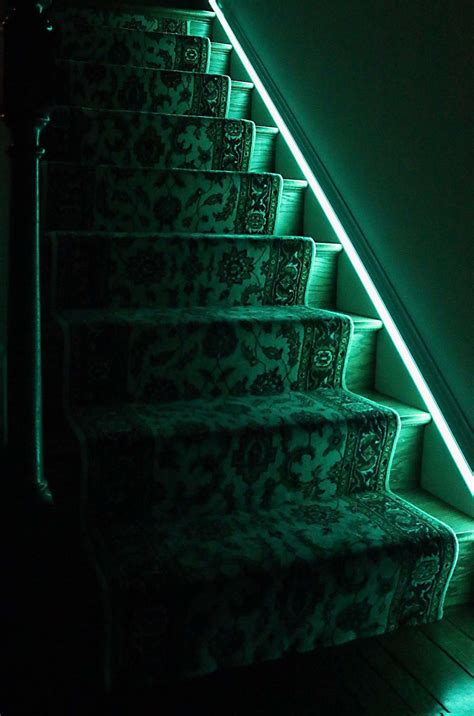 Led Light Strips For Stairs How To Install Stair Lighting 1000bulbs