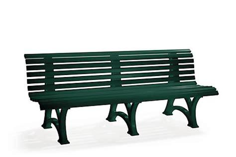 banc de jardin en plastique banc d ext 233 rieur en plastique 9 ou 13 lames m1027816