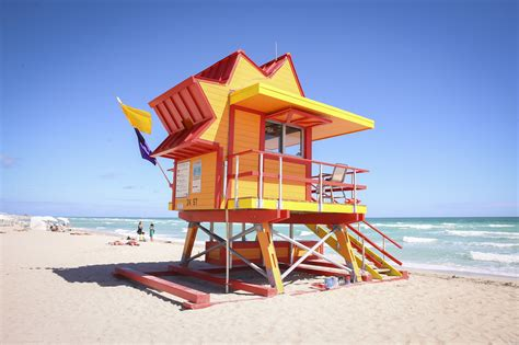 South Florida House Plans by Miami Beach Unveils New Lifeguard Towers 171 Cbs Miami