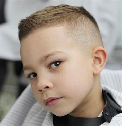toddler boy faded curly hairsstyle boys fade haircuts