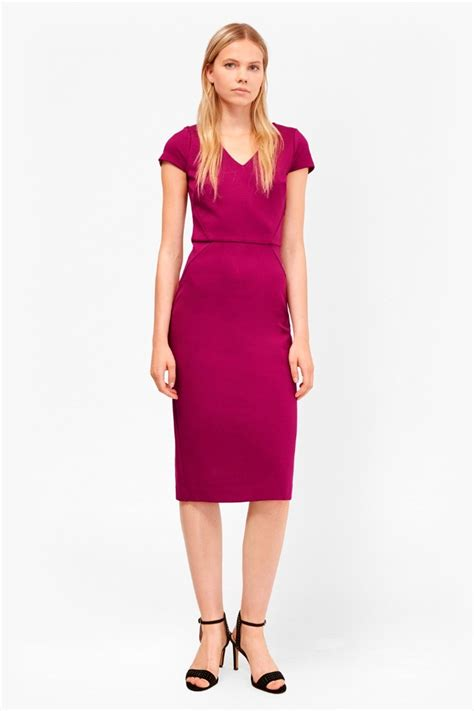 Dress Stretch lula stretch bodycon midi dress collections connection