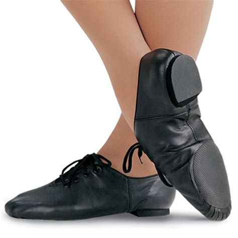 jazz shoes so danca split sole leather jazz shoe