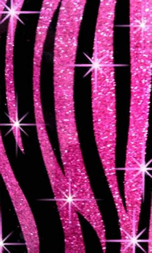 pink zebra bling live wallpapr android apps on