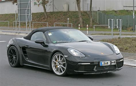 2018 porsche 718 boxster gts makes spyshot debut to be a