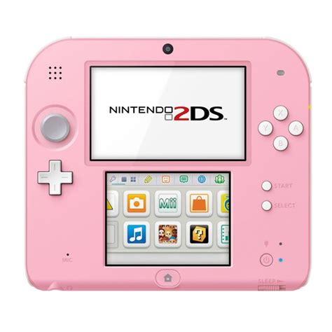 2ds console nintendo 2ds console pink white nintendo official uk