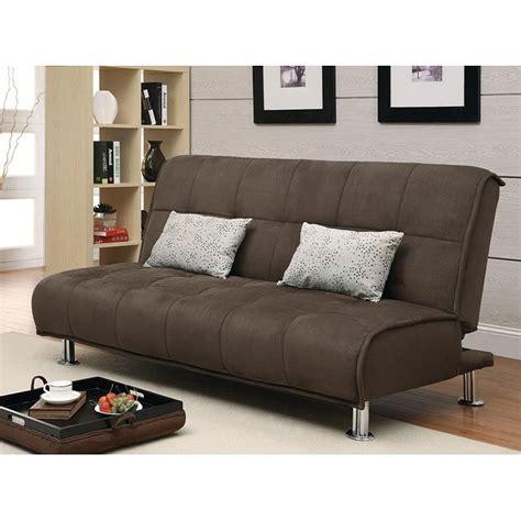 brown microfiber sofa bed brown microfiber sofa bed coaster furniture furniture cart