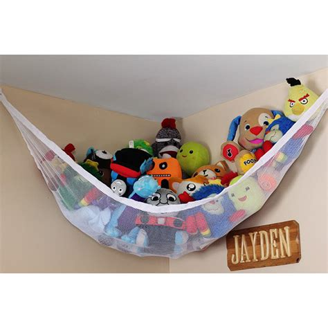 toys for the bedroom large toy hammock soft teddy mesh baby childs bedroom tidy