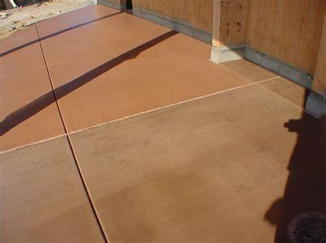 Rust Oleum Decorative Concrete Coating Changing Integral Colored Concrete The Concrete Network
